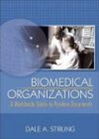 Okładka książki Biomedical Organizations