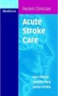 Okładka książki Acute Stroke Care