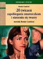 Okładka książki 20 ćwiczeń zapobiegania zmarszczkom i starzeniu się twarzy