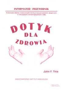 Okładka książki Dotyk dla zdrowia