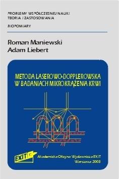 Okładka książki Metoda laserowo - dopplerowska w badaniach mikrokrążenia krwi