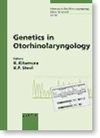 Okładka książki Genetics in Otorhinolaryngology
