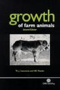 Okładka książki Growth of Farm Animals