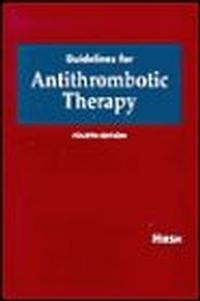 Okładka książki Guidelines for Antithrombotic Therapy