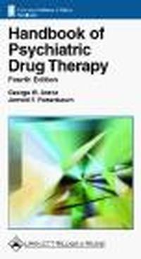 Okładka książki Handbook of Psychiatric Drug Therapy 4e