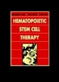 Okładka książki Hematopoietic Stem Cell Therapy