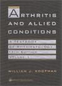 Okładka książki Arthritis & Allied Conditions Textbook of Rheumathology