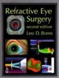 Okładka książki Refractive Eye Surgery
