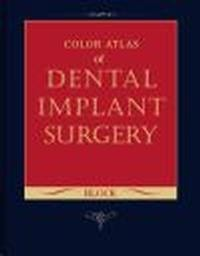 Okładka książki Color Atlas of Dental Implant Surgery