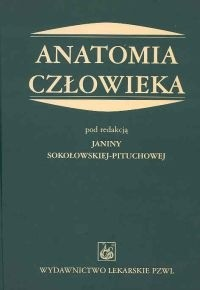 Okładka książki Anatomia człowieka - Sokołowska-Pituchowa Janina (red.)