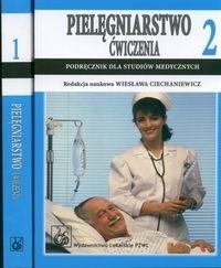 Okładka książki Pielęgniarstwo ćwiczenia 1, 2 - Ciechaniewicz Wiesława