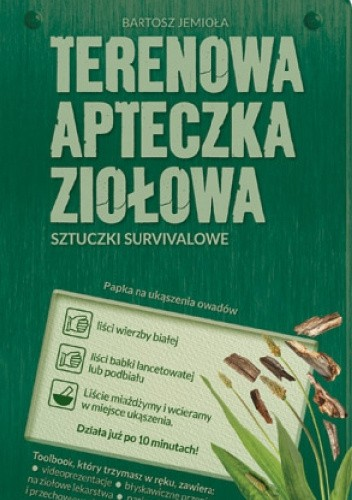 Okładka książki Terenowa apteczka ziołowa