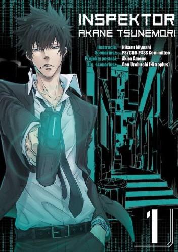 Okładka książki Inspektor Akane Tsunemori #1