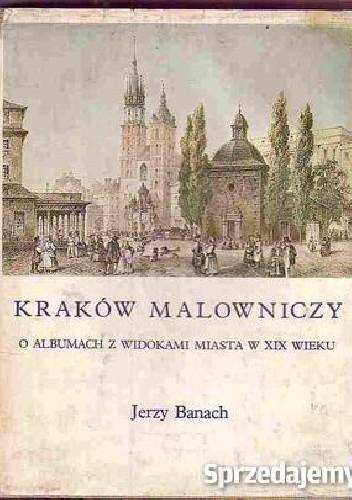 Okładka książki Kraków malowniczy : o albumach z widokami miasta w XIX wieku