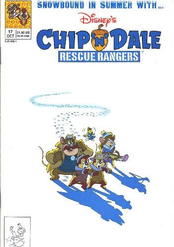 Okładka książki Chip'n'Dale Rescue Rangers #17
