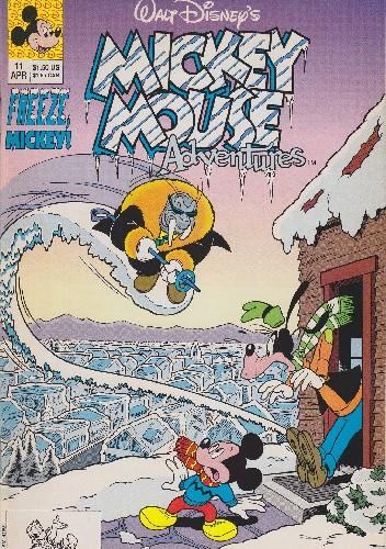 Okładka książki Mickey Mouse Adventures #11