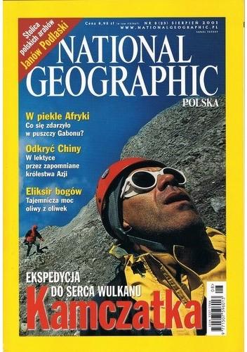 Okładka książki National Geographic 08/2001 (23)