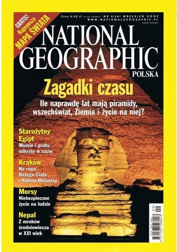Okładka książki National Geographic 09/2001 (24)