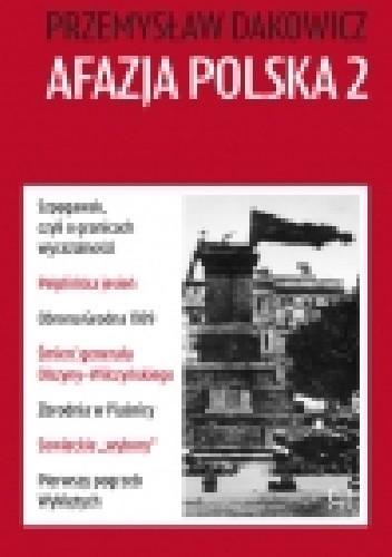 Okładka książki Afazja polska 2