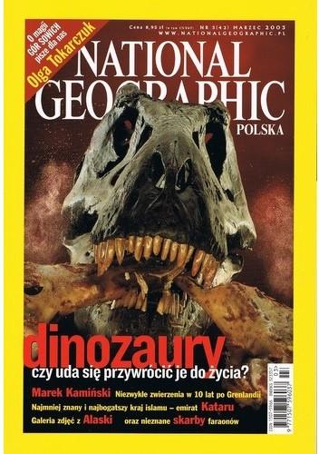 Okładka książki National Geographic 03/2003 (42)