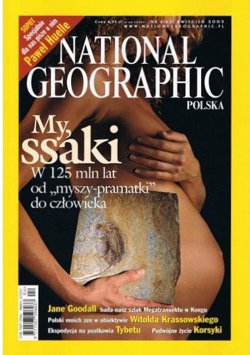 Okładka książki National Geographic 04/2003 (43)