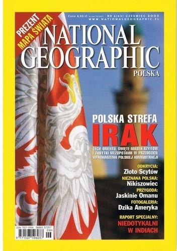Okładka książki National Geographic 06/2003 (45)