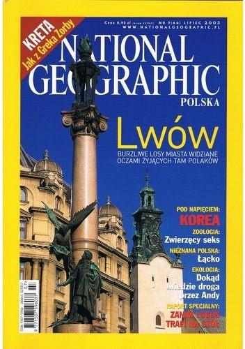 Okładka książki National Geographic 07/2003 (46)