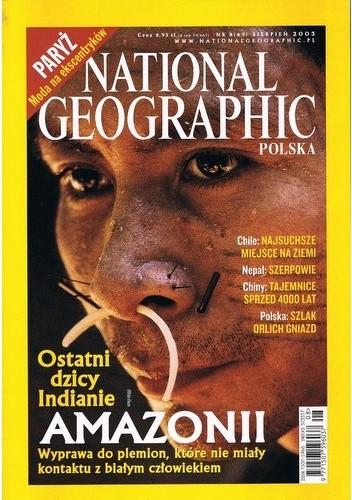 Okładka książki National Geographic 08/2003 (47)
