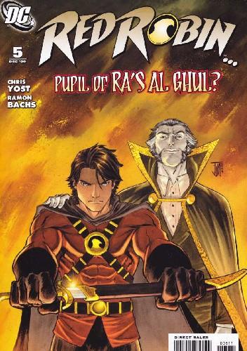 Okładka książki Red Robin #5