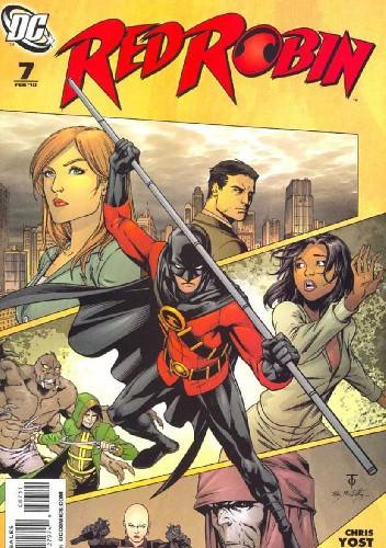 Okładka książki Red Robin #7