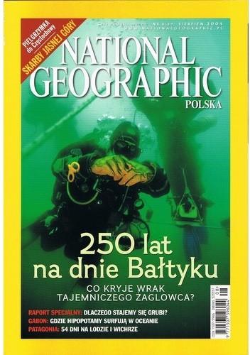 Okładka książki National Geographic 08/2004 (59)