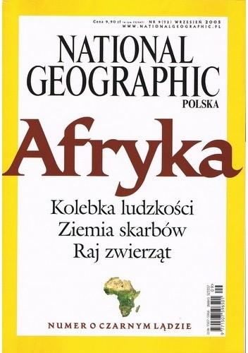 Okładka książki National Geographic 09/2005 (72)