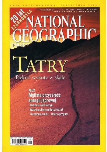 Okładka książki National Geographic 04/2006 (79)