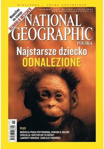 Okładka książki National Geographic 11/2006 (86)