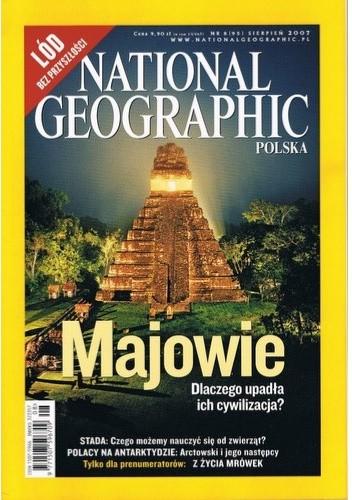 Okładka książki National Geographic 08/2007 (95)