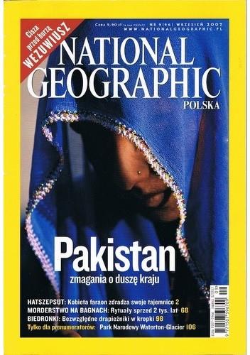 Okładka książki National Geographic 09/2007 (96)