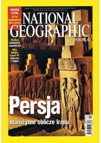 Okładka książki National Geographic 09/2008 (108)