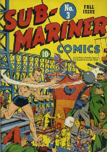 Okładka książki Sub-Mariner Comics 3