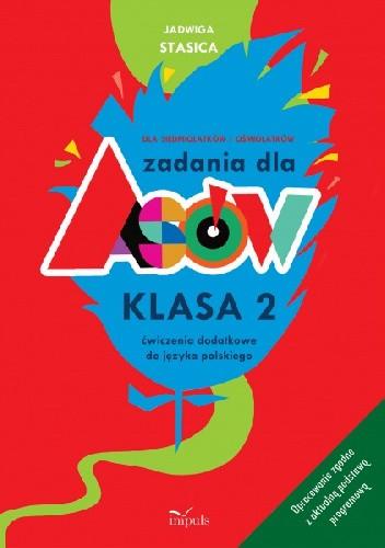 Okładka książki Zadania dla asów. Ćwiczenia dodatkowe z języka polskiego, kl. 2