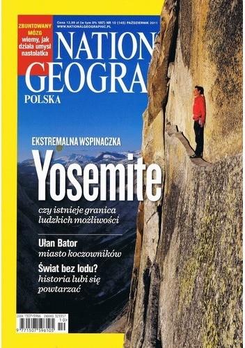 Okładka książki National Geographic 10/2011 (145)
