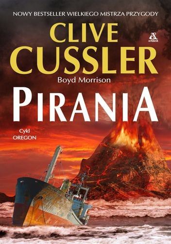 Okładka książki Pirania
