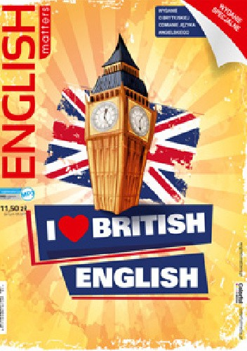 Okładka książki English Matters: I love British English 21/2017
