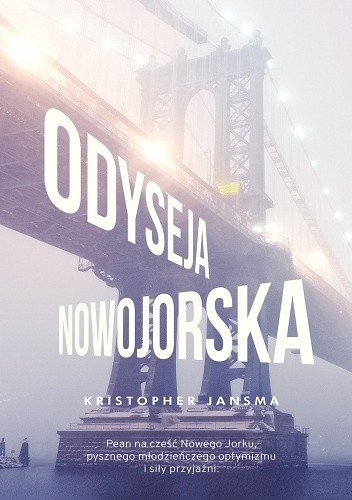 Okładka książki Odyseja nowojorska