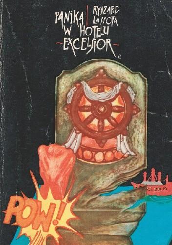 Okładka książki Panika w hotelu Excelsior