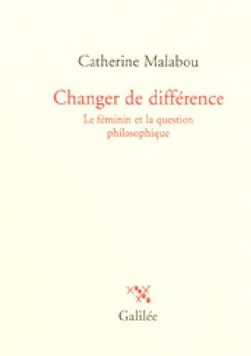 Okładka książki Changer de différence