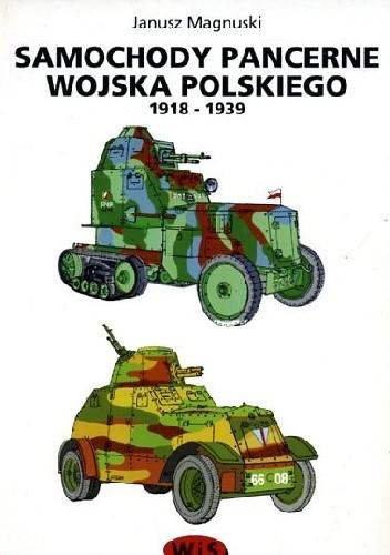 Okładka książki Samochody pancerne wojska polskiego 1918-1939