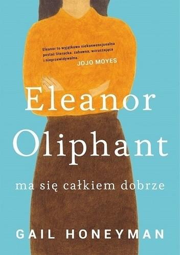 Okładka książki Eleanor Oliphant ma się całkiem dobrze