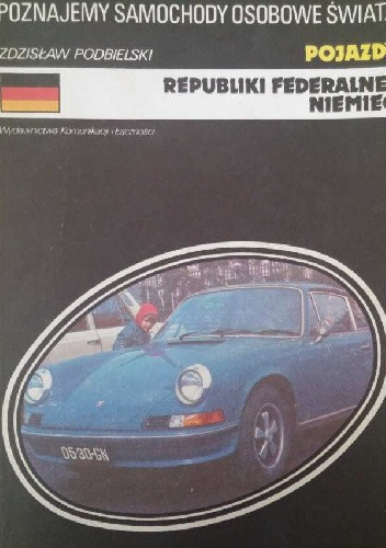 Okładka książki Pojazdy Republiki Federalnej Niemiec