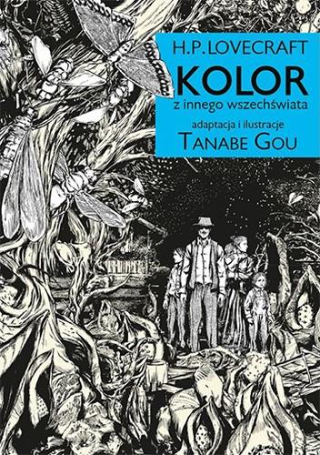 Okładka książki H.P. Lovecraft: Kolor z innego wszechświata