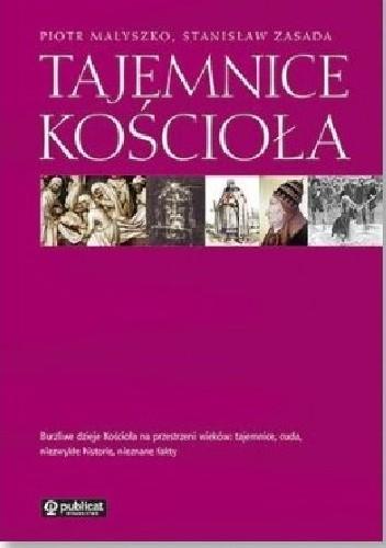 Okładka książki Tajemnice Kościoła